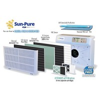 AUTHENTIC Ultra-Sun Sun-Pure SP-20 & SP-20C  TRIO-1000 & TRIO-1000P 5 Stage Air Purifier Replacement with (2) Ultraviolet Lights Part 1RK006 - B007KDX80O