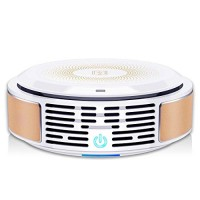 Air Purifier with True HEPA Filter  3-in-1 Air Cleaner  Portable & Quiet  Eliminates Pollen  Dust  Pet Dander  Smoke  Mold  Germs  Odor Cleaner  for Allergies/Home/Office/Car/Pet Owner/Smoker - B07CSTL3KX