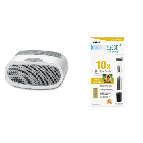 Holmes Air Purifier with Odor Eliminator Filter - B076VQ6STG