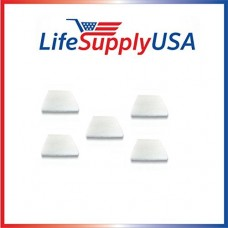 5 Pack LifeSupplyUSA Aftermarket Replacement Pre-Filter Pads designed to fit IQ Air Iqair PF40 - B00RD4OU16