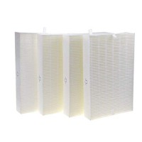 DerBlue 4psc HEPA Filter Replacement for Honeywell Air Purifier Models HPA100  HPA200 and HPA300 Compared with Part R Filter HRF-R1 HRF-R2 HRF-R3 - B07F9N467D