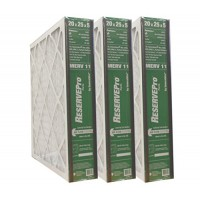 "GeneralAire # 4501 ReservePro 20x25x5 furnace filter  Actual Size:19 5/8"" x 24 3/16"" x 4 15/16"" - Case of 3 Filters - B0128794WC"