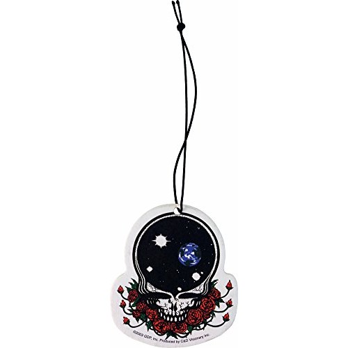 Grateful Dead Space Face Lemon Scent Auto Office Air Freshener Hang By String Travel Air Purifier - B00THN4SI6