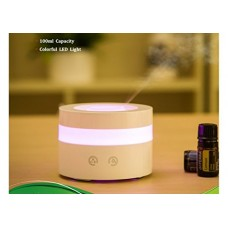 Wired Melody Portable Travel-size USB 100ml Aroma Essential Oil Diffuser Humidifier Small Ultrasonic Office Spa Kid's Room Bedroom Kitchen - B06XSF6NFP