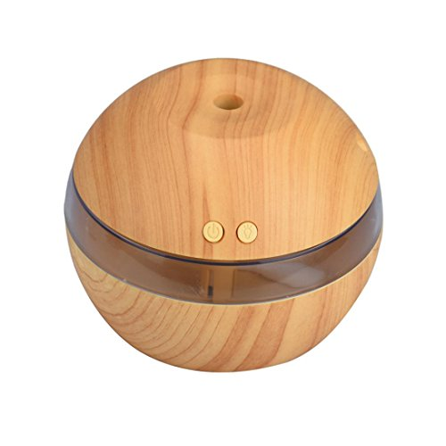 Air Aroma Essential Oil Diffuser  Bolayu LED Ultrasonic Aromatherapy Humidifier (Khaki) - B01NATU58X