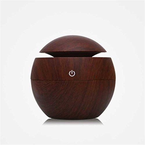 Home Essential Aromatherapy Ultrasonic Personal Humidifier (Mahogany) - B0723FMM37