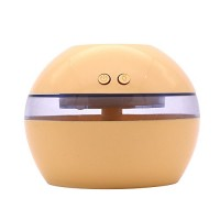 SoadSight YRD Tech Ultrasonic Air Humidifier for Home Essential Oil Diffuser Humidificador Mist Maker Aroma Diffusor (Yellow) - B07FH7P8N6