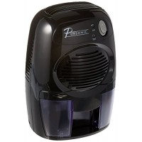 Pursonic Mini-Capacity Electric Compact Dehumidifier DHM-200  Black - B013RGOJ3C