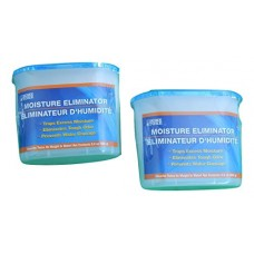 The Home Store Moisture Eliminator Dehumidifier Pellets 9.8-oz. (Pack of 2) - B017THTRUK