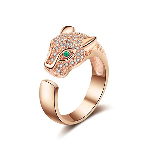 Tasty Life Rings  2018 New Adjustable Crystal Dragon Ring Fashion Rhinestones Cute Animal Rings Green Zircon Eyes - B07G3CYVJ5