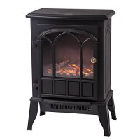 750W/1500W Heat Log Flame Stove Portable Standing Electric Fireplace Best Massage - B076ZJMN6D