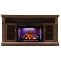 Napoleon Canterbury NEFP29-1415E Entertainment Package Includes NEFE29-1415E Cabinet/Mantel & Cinema NEFB29H-3A Electric Fireplace - B075Z34VF3