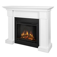 Real Flame 7910E-W Hillcrest Electric Fireplace  Medium  White - B0131LKHQG