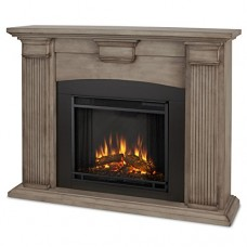 Real Flame 7920E Adelaide Electric Fireplace  Medium  Dry Brush White - B014GDI5UI