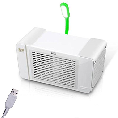 Cooler Personal evaporative air  Mini portable desktop air conditioner Small air conditioner Mini cold fan Refrigerator Bed dormitory office-A 9x10x19cm(4x4x7) - B07F3BW6KV