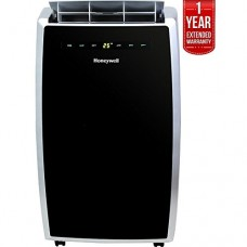 Honeywell 12 000 BTU Portable Air Conditioner Remote Control Black/Silver (MN12CES) 1 Year Extended Warranty - B07DJ591RK