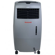 Honeywell 52 Pint Indoor/Outdoor Portable Evaporative Air Cooler - Gray - B00ZYK2FUO
