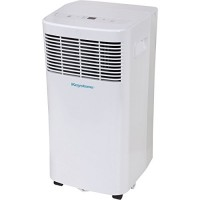 "Keystone KSTAP08D 115V Portable Air Conditioner with ""Follow Me"" Remote Control for Rooms up to 100-Sq. Ft. - B06XCL3ZYS"