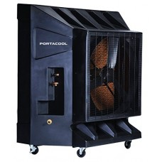 Portacool PAC2K36HPVS 36-Inch Portable Evaporative Cooler  10100 CFM  2600 Square Foot Cooling Capacity  Variable Speed  Black - B000Z574DG