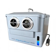 The 12-volt portable air conditioner K2 uses water to cool People or Pets in sleepers  campers  boats  tents etc. No 12-volt system in the World is capable of cooling Rooms or Vehicles. (5N) - B06XHQ7QK2