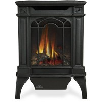 Napoleon GVFS20N Fireplace  Arlington Natural Gas Stove Vent Free 18 000 BTU - Painted Black (Stove Top NOT INCLUDED) - B000X0FFAC