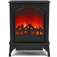 Regal Flame Phoenix Electric Fireplace Free Standing Portable Space Heater Stove Better than Wood Fireplaces  Gas Logs  Wall Mounted  Log Sets  Gas  Space Heaters  Propane  Gel  Ethanol  Tabletop - B01MSC0P2K