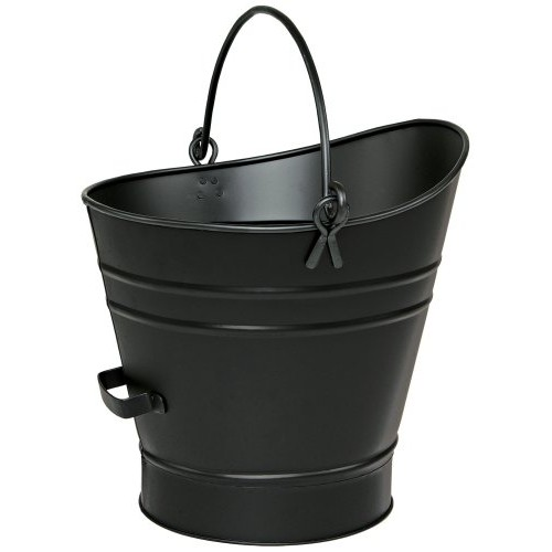 Achla Small Coal Hod or Pellet Bucket in Powder Coated Black Iron - B000ASGM2M