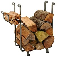 Enclume Rectangular Log Rack  Hammered Steel - B00063QNXY