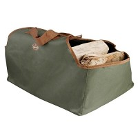 Esschert Design Canvas Log Carrier - B000ZGUW9I