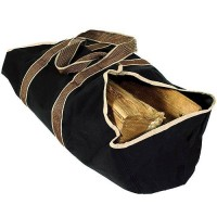 "WoodEze Ultimate Firewood Carrier | Heavy Duty Log Tote Keeps Your Clothes and Floor Clean | Measures 22"" x 12"" x 12"" When Loaded - B01JMQ0DDG"