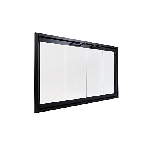 Superior Bi-Fold Glass Fireplace Door  Easy to Install  Stop Annoying Drafts and Lower Your Heating Bill (Fits Superior HC3820) - B00NMF05WI