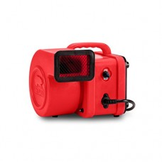 B-Air FX-1 1/4 HP Mini Air Mover for Water Damage Restoration Daisy Chain Carpet Dryer Floor Blower Fan  Red - B011RLIPHU