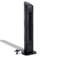"MD Group Tower Fan 35"" Black 3 Speed Oscillating Manual Remote Control LED Display Digital Air Cooler - B07GZDYCLC"