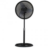 Aerospeed 16 in Black Oscillating Pedestal Fan - B07F16P5YY