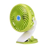 Becoler Mini Handheld Fan-Battery Operated Clip On Mini Desk USB Fan Adjustable Speed Cooling Portable Small Stroller Fan for Traveling Fishing Camping - B07DFKWGXG