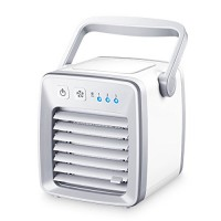 Farway Air Cooler Fan USB Personal Portable Air Conditioner Refrigeration Humidification Purification - B07FSQ2Y5D