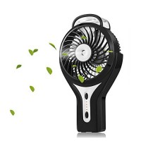Misting Fan  iKiwi Portable USB Fan  Mini Handheld Cool Misting Fan for Home  Outdoor and Office  Bulit in 2200mAh Rechargeable Battery - B0743F3MJM