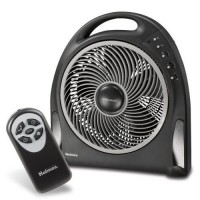 TABLE FAN  12 Inch Blizzard Remote Control & Rotating Grill PORTABLE FAN - B01K26ONM2