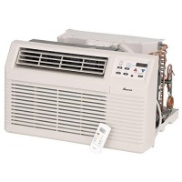Amana PBC092G00CB 9 200 BTU Through-the-Wall Air Conditioner with Electronic Touchpad Remote Control with LCD Display 2-Fan Speeds Energy Saver Option 4-Way Adjustable Airflow and Slide-out - B00TS87L8O