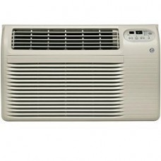 "GE AJCQ12ACF 26"" Thru-the-Wall Air Conditioner with 12 000 BTU Cooling and Remote Control in Grey (Grey) - B00J04BWMC"