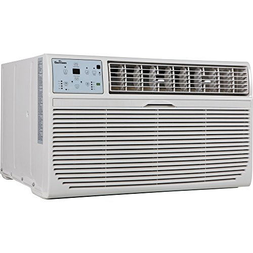Garrison 2477811 R-410A Through-The-Wall Heat/Cool Air Conditioner with Remote Control  8000 BTU  White - B00VQ8EY6Q
