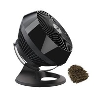 660 Fan Vornado Air Circulator  Large Whole Room  Black (Complete Set) w/ Bonus: Premium Microfiber Cleaner Bundle - B075W53L1N