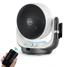 Air Circulator Fan Fochea Powerful Oscillating Desk Fan / Table Fan Enhanced Airflow Multi-mode with Remote Control 8 Speeds Adjustable  90 Degree Head Swing  7 Kinds of Timer Setting for Home Office - B07FN9J2JG