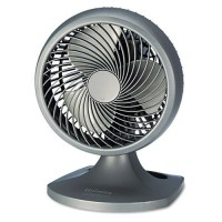 "Holmes HAOF90NUC Blizzard 9"" Three-Speed Oscillating Table/Wall Fan Charcoal - B00Q4KKS2U"