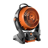 Ridgid R860720B GEN5X 18-Volt Hybrid Cordless & Corded Fan (Battery and Charger Not Included) - B013H51454
