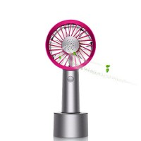 Mini Handheld Fan  Personal Portable Desk Desktop Table Cooling Fan with USB Rechargeable Battery Innovative Aromatherapy Box Design Fan for Office Room Outdoor Household Traveling(3 Speed  Purple) - B07C8423RQ