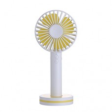 Mini USB Handheld Fan-Super Quiet  Up to 11 Hours  Povida Personal Portable Desk Desktop Table Cooling Fan with USB Rechargeable Battery Operated Electric Fan for Outdoor Camping Travel Office  Small - B07CQLMGVV