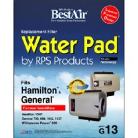 "BestAir G13  General/ Hamilton Replacement  Metal & Clay Water Pad  10"" x 1.8"" x 12.4"" - B000BUJNG6"