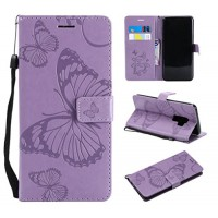 Galaxy S9 Plus Case Galaxy S9 Plus Wallet Case S9 Plus Case with Card Holders Folio Flip PU Leather Butterfly Case Cover with Card Slots Kickstand Phone Case for Samsung Galaxy S9 Plus Light Purple - B07G6LWRWJ