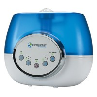 PureGuardian H1610 100-Hour Ultrasonic Warm and Cool Mist Humidifier  Digital  1.5-Gallons - B00O9XPVTO